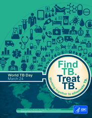 Find TB. Treat TB. Button