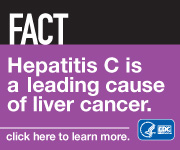 Fact: Hepatitis C is a leading cause of liver cancer.