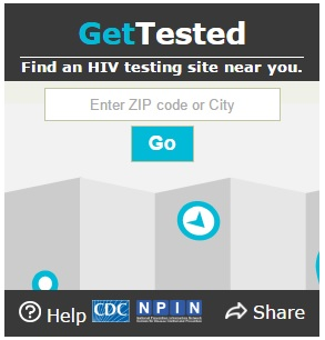 Gettested Widget
