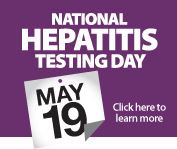 National Hepatitis Testing Day Badge