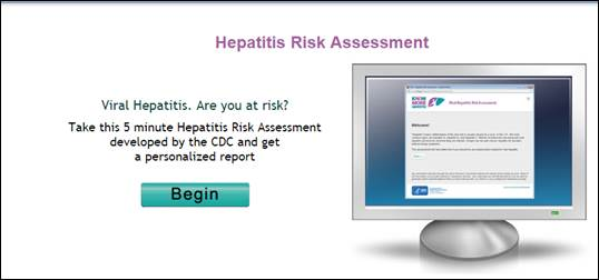 Online Hepatitis Risk Assessment Tool