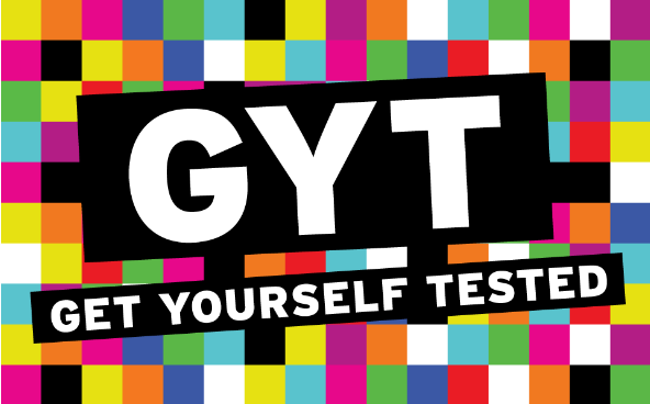 Get Yourself Tested. Go to campaign.