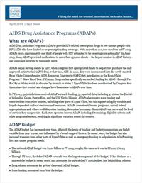 Thumbnail image of AIDS Drug Assistance Programs (ADAPs)