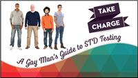 Thumbnail image of Take Charge: A Gay Man's Guide to STD Testing