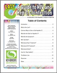Thumbnail image of Easy C: A Guide to HIV and Hep C Coinfection