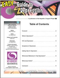 Thumbnail image of Easy C Guide to Depression