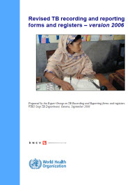 Revised TB Recording and Reporting Forms and Registers