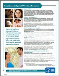 Thumbnail image of Infección Genital por el VPH - Hoja Informativa