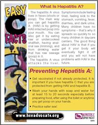 Thumbnail image of Easy C Facts: What is Hepatitis A?
