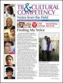 TB and Cultural Competency: Finding My Voice