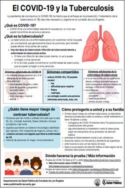El COVID-19 y la Tuberculosis [COVID-19 and Tuberculosis]