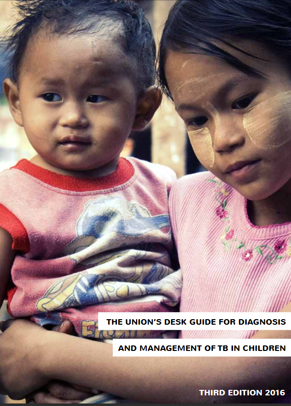 The Union's Desk Guide for Diagnosis and Management of TB in Children – Third Edition, 2016. Go to PDF manual.
