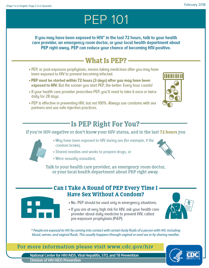 PEP 101 | National Prevention Information Network