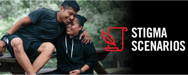 Stigma Scenarios: Support in Action. Go to website.