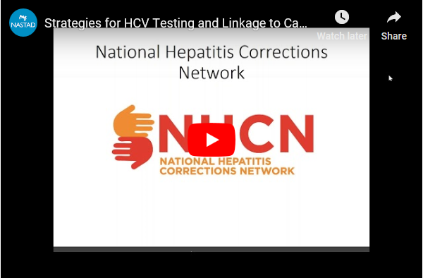 Webinar: Strategies for HCV Testing and Linkage to Care in and from Prison. Go to Webinar.