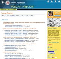 Thumbnail image of Hepatitis B Podcasts