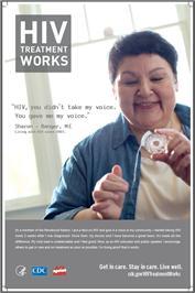 Thumbnail image of HIV Treatment Works - Sharon