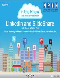 In the Know: Social Media for Public Health: LinkedIn