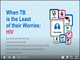 When TB is the Least of Their Worries: HIV webinar