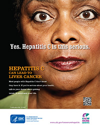 Poster: Yes. Hepatitis C is this serious.