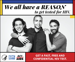 Reasons Badge: We all have a REASON to get tested for HIV