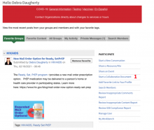 Start a Collaborative Document.  Image shows Dashboard.