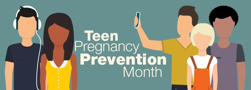 Teen Pregnancy Prevention Month Logo