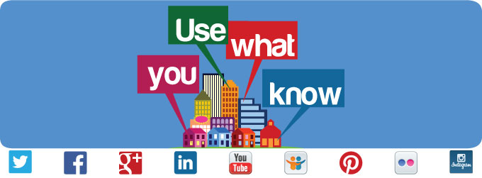Using What You Know About Social Media
