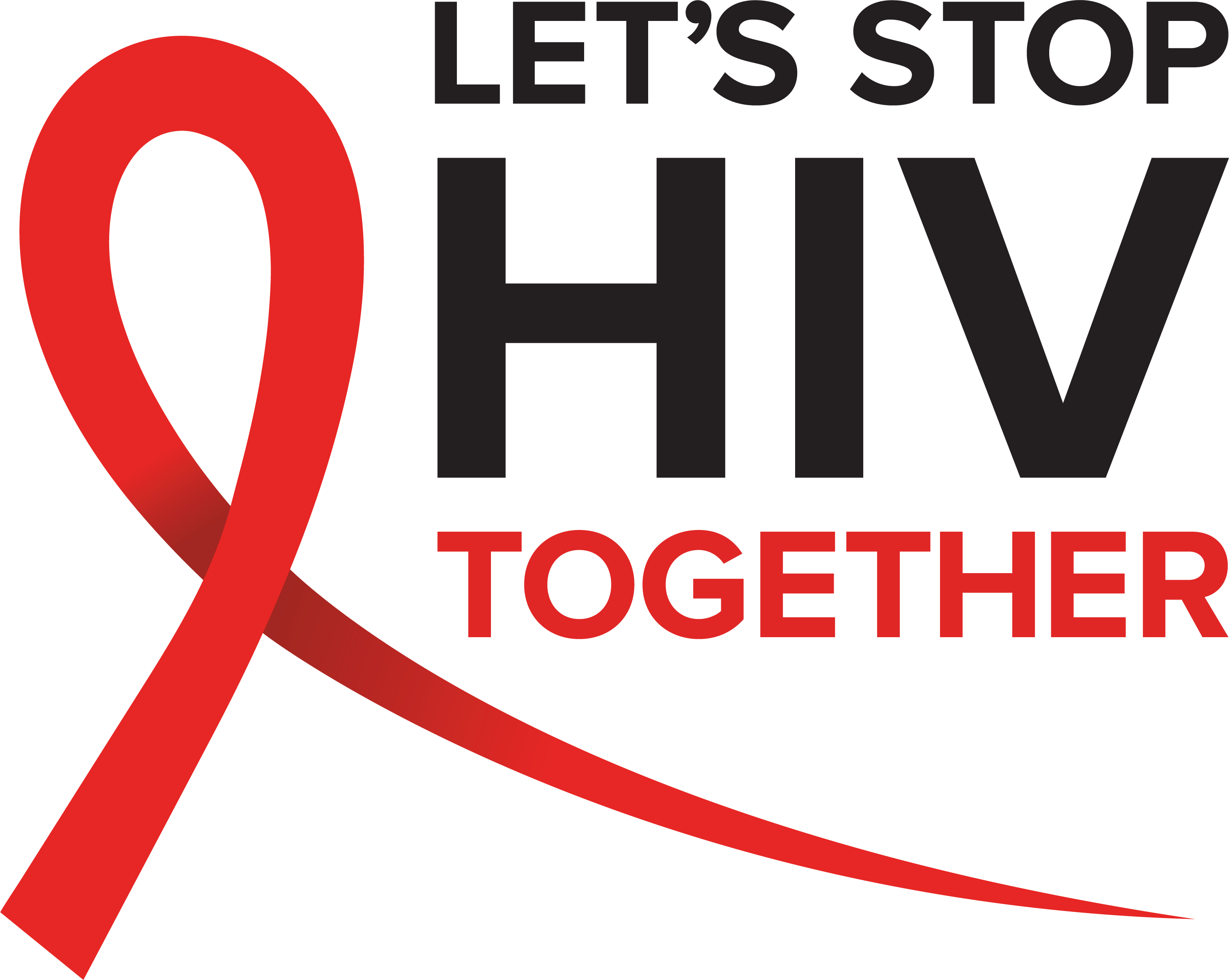 Logo for Let's Stop HIV Together