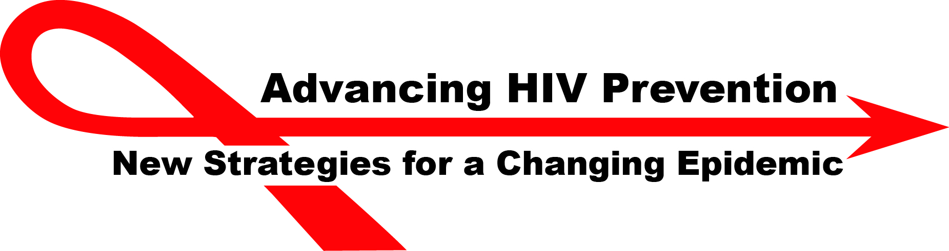 Logo for Advancing HIV Prevention, new strategies for a changing epidemic