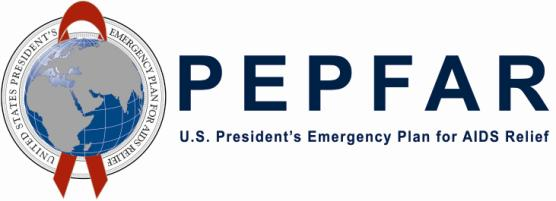 Logo for PEPFAR
